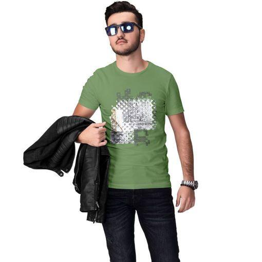 Ανδρικό T-Shirt ''Bridge'' Ανοιχτό πράσινο  Run