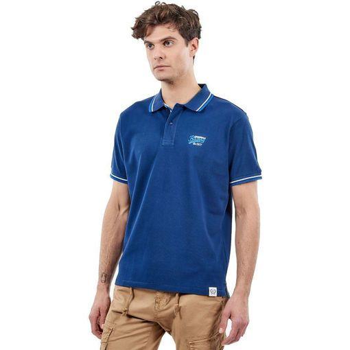 """Ανδρική Μπλούζα Polo """"Sportswear"""" Battery Navy"""