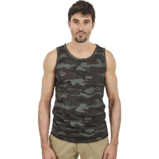 Ανδρικό Αμάνικο T-shirt  ''Soldier'' Battery Χακί