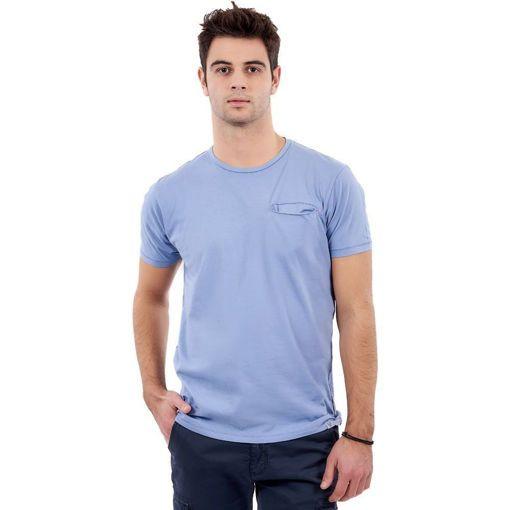 """Ανδρικό T-Shirt """"Hidden Pocket""""  Greenwood Ραφ"""