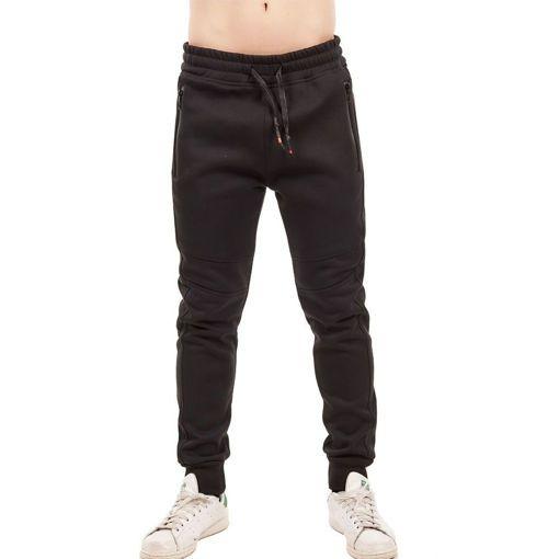 Ανδρικό παντελόνι φόρμα Greenwood Μαύρο