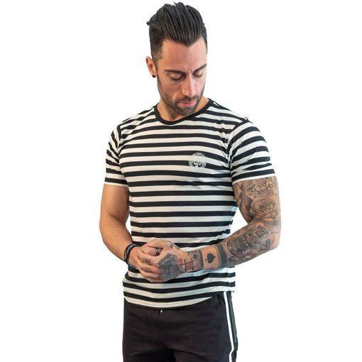 Ανδρικό T-Shirt Με Ρίγες  Greenwood