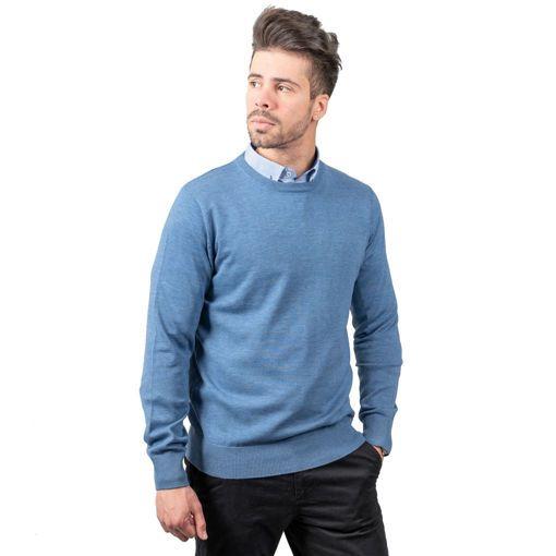 Ανδρική πλεκτή μπλούζα
