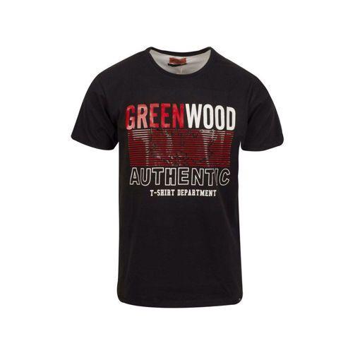 """Ανδρικό βαμβακερό T-shirt Greenwood  """"Authentic"""""""