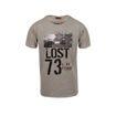 """Ανδρικό βαμβακερό T-shirt Greenwood """"Lost"""""""