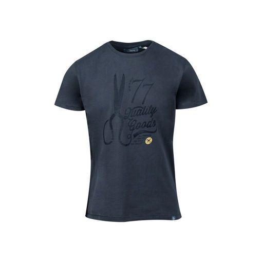 """Ανδρικό βαμβακερό T-shirt Battery  """"77''"""