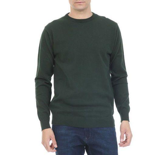 Ανδρική πλεκτή μπλούζα RUN Πράσινο